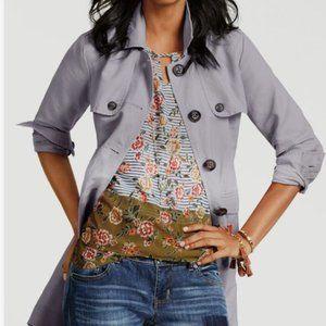 CAbi #5354 Penelope Floral Print Sleeveless Top